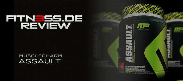 MusclePharm Assault – Testbericht