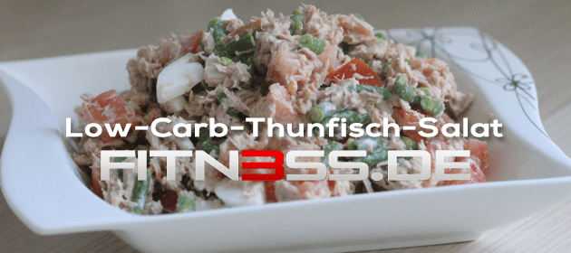 Low-Carb-Thunfisch-Salat