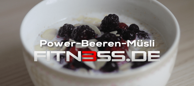 Power-Beeren-Müsli
