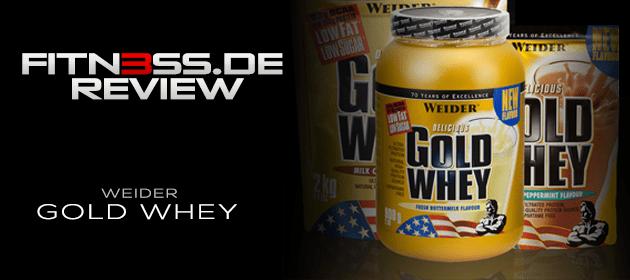 Weider Gold Whey – Testbericht