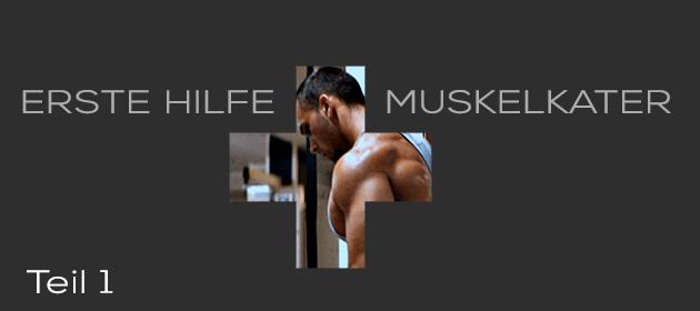 Erste-Hilfe-Muskelkater – Teil 1: Wie kann man Muskelkater verhindern?