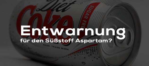 Entwarnung für den Süßstoff Aspartam?