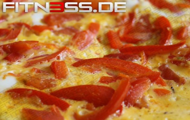 Low Carb Paprika-Tomaten-Eierkuchen